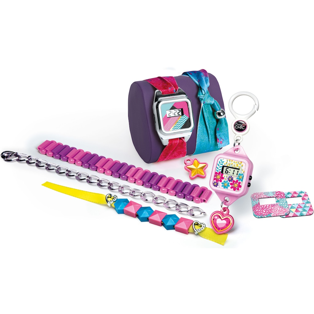 Clementoni® Kreativset »Crazy Chic - Crazy Uhr«, Made in Europe