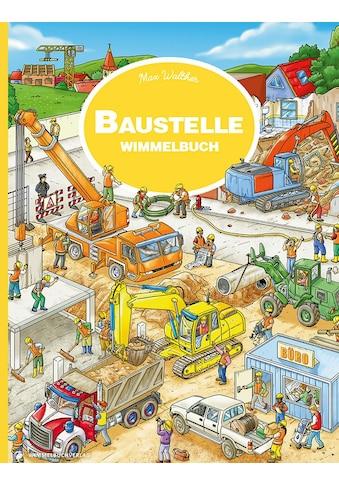 Buch »Baustelle Wimmelbuch / Max Walther« kaufen