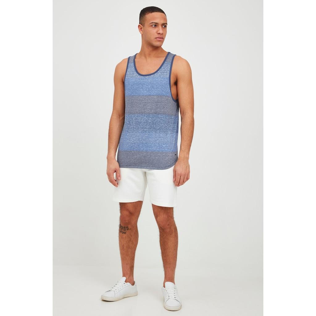 Solid Tanktop »Charan«, ärmelloses Shirt mit Streifen