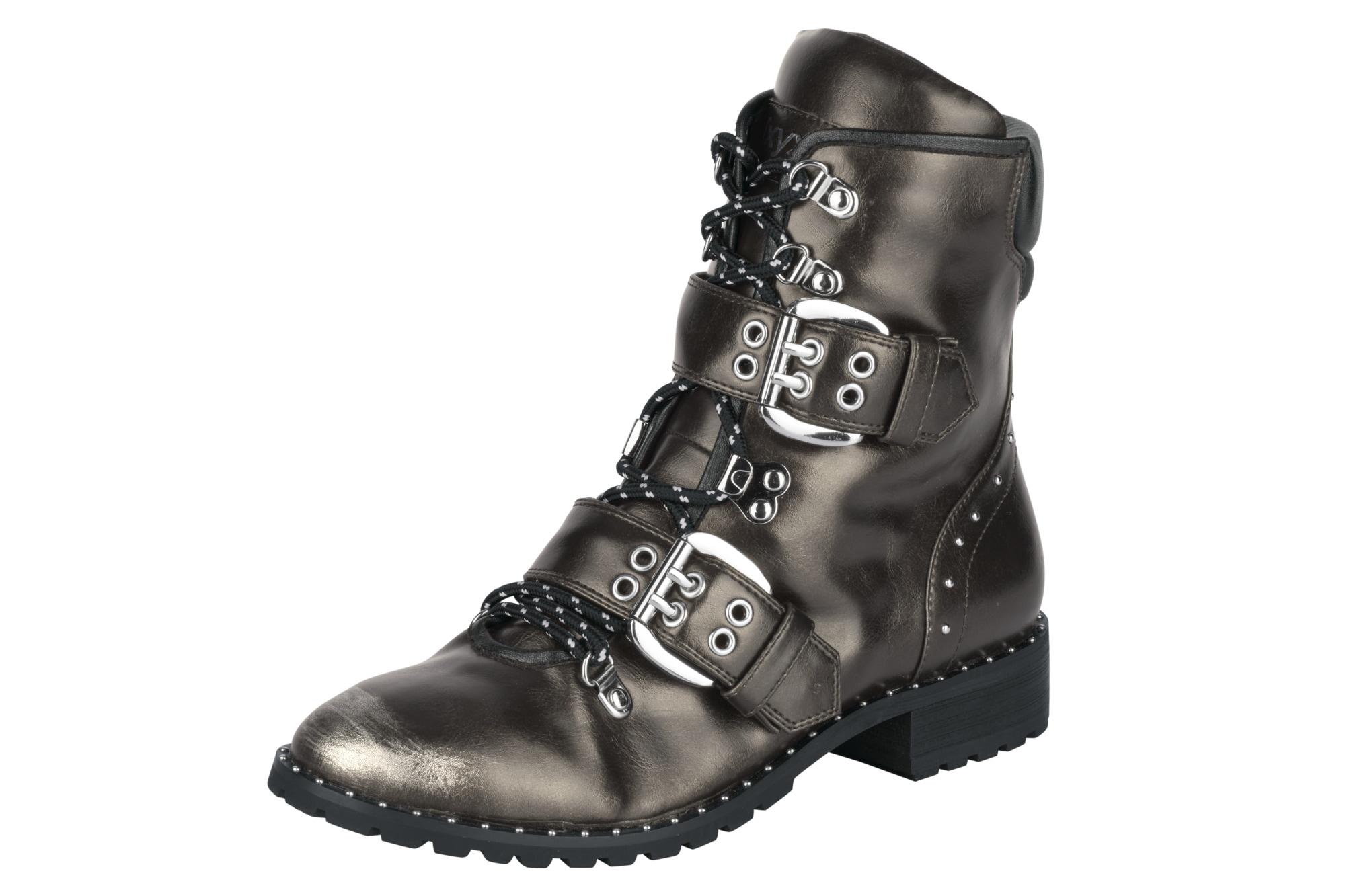 XYXYX NIeten Stiefelette mit Zierschnallen und NIeten XYXYX bequem online kaufen | Gutes Preis-Leistungs-Verhältnis, es lohnt sich e59465