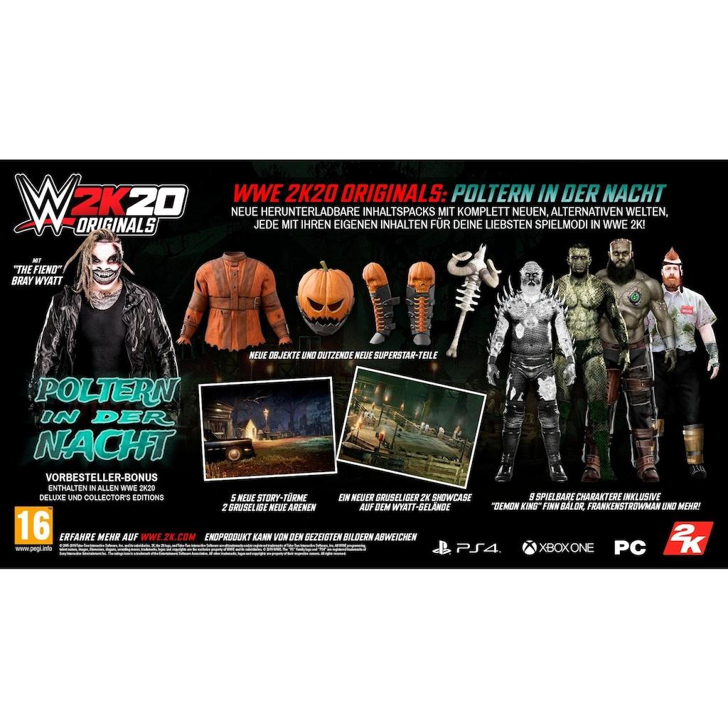 2K Spiel »WWE 2K20 - Deluxe Edition«, PlayStation 4