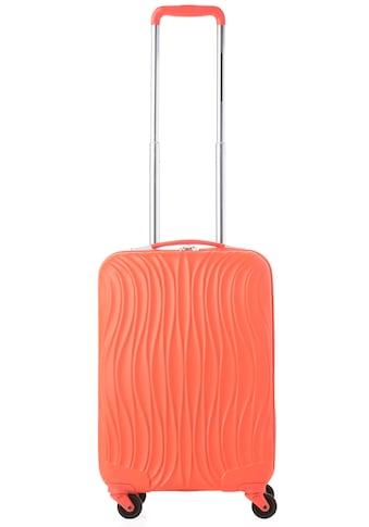 CARRYON Hartschalen-Trolley »Wave, 55 cm«, 4 Rollen, mit USB-Schleuse kaufen