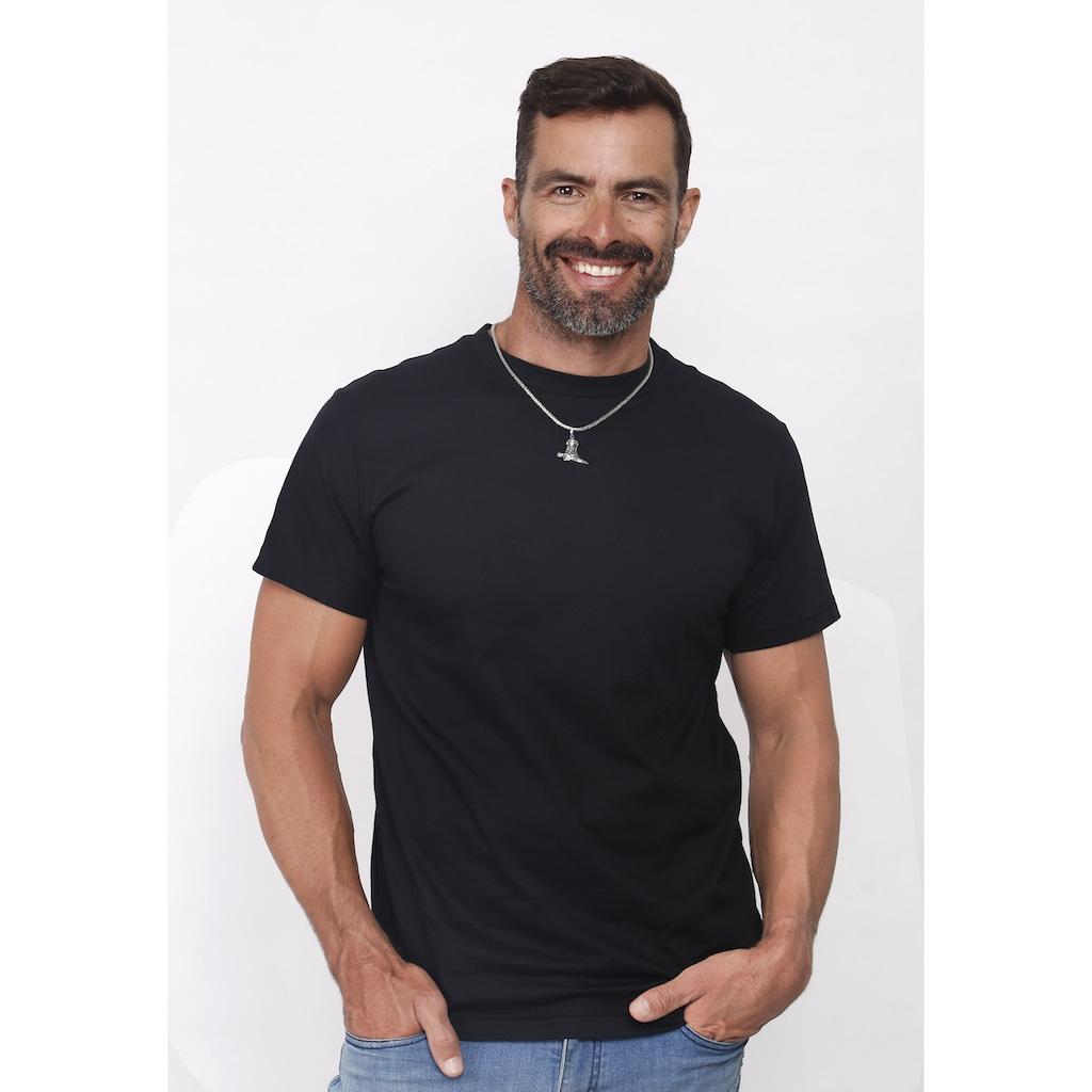 Kuzzoi Kettenanhänger »Herren Stiefel Cowboy Kettenanhänger 925 Silber«