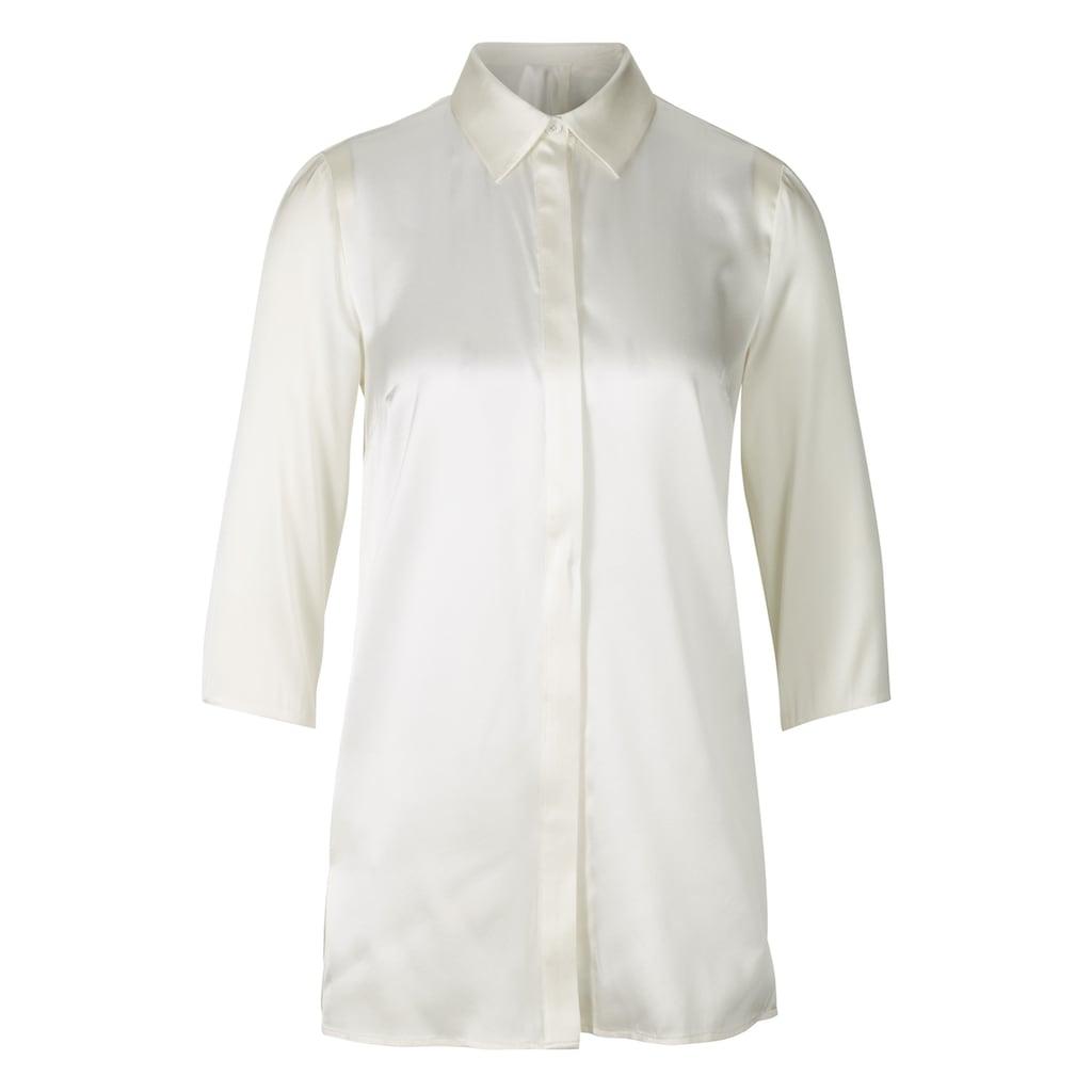 Bluse aus Seide mit Elasthan