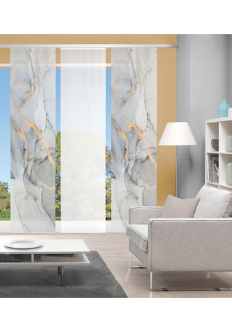Vision Schiebegardine »MARMOSA 3er SET«, Bambus-Optik, Digital bedruckt kaufen