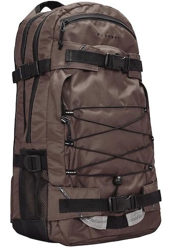 forvert Laptoprucksack »Louis, dark brown« kaufen