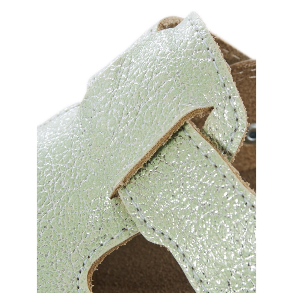 Hausschuh Clog Shiny mit glänzender Oberfläche