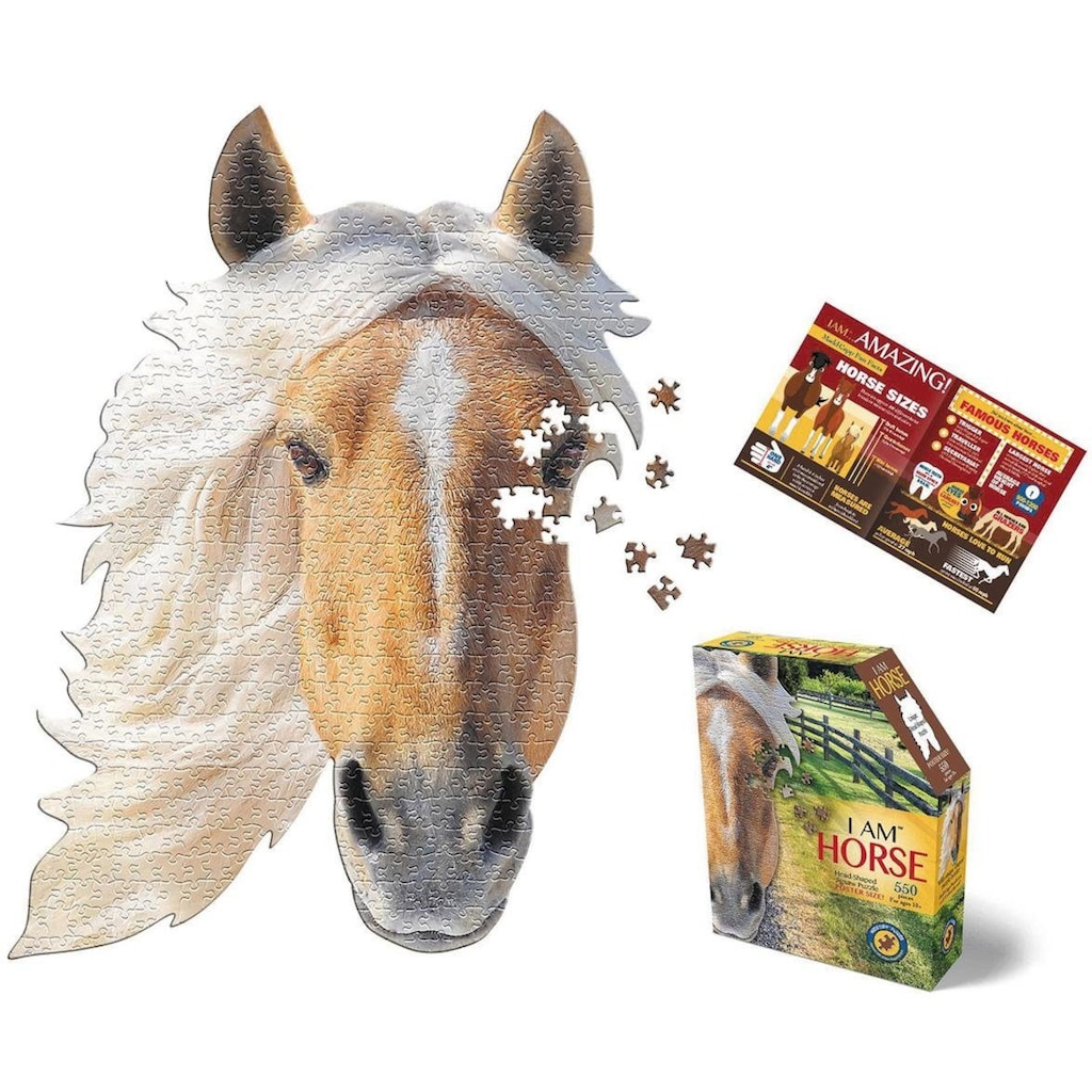 Konturenpuzzle »Pferd«