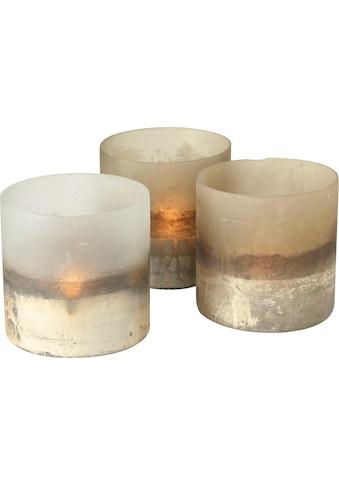 BOLTZE Windlicht »Listra« (Set, 3 Stück) kaufen