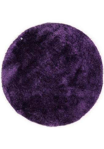 TOM TAILOR Hochflor-Teppich »Soft«, rund, 35 mm Höhe, super weich und flauschig,... kaufen