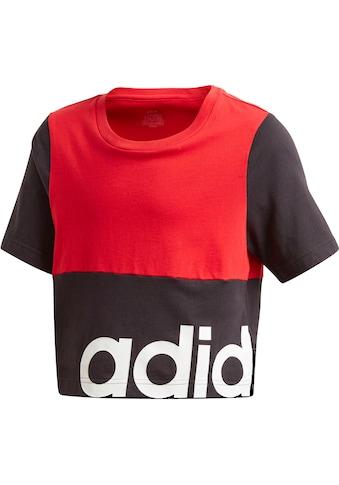 adidas Performance T-Shirt »LINEAR COLORBLOCK« kaufen