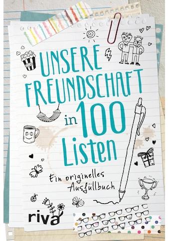 Buch »Unsere Freundschaft in 100 Listen / DIVERSE« kaufen