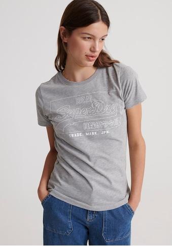 Superdry T-Shirt »Vintage Logo Outline« kaufen