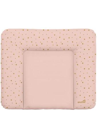 Geuther Wickelauflage »Wickelmulde Lena, rosa Sterne«, Made in Europe kaufen