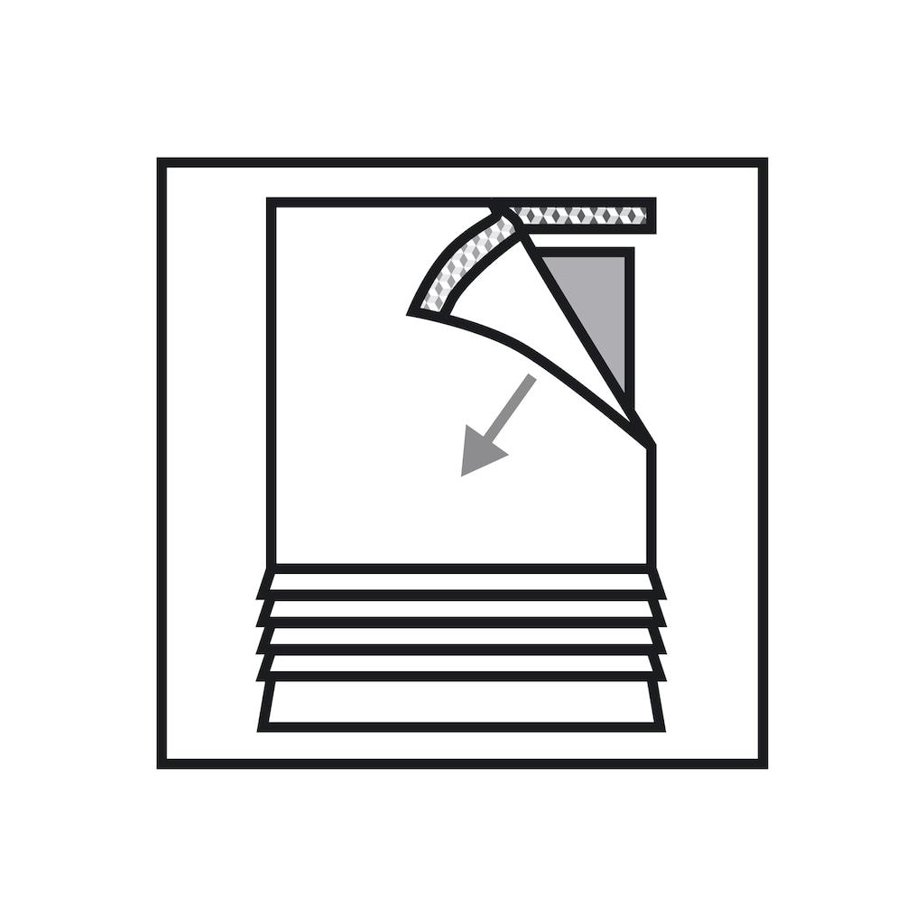 Schiebegardine, »Flächenvorhang Stoff Rispe«, GARDINIA, Klettband 1 Stück