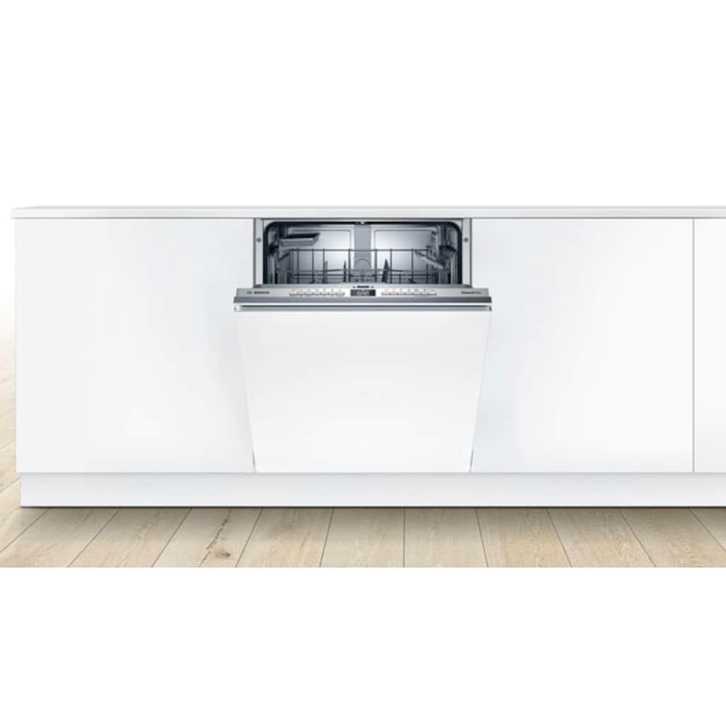 BOSCH vollintegrierbarer Geschirrspüler »SMV4HAX48E«, Serie 4, SMV4HAX48E, 13 Maßgedecke