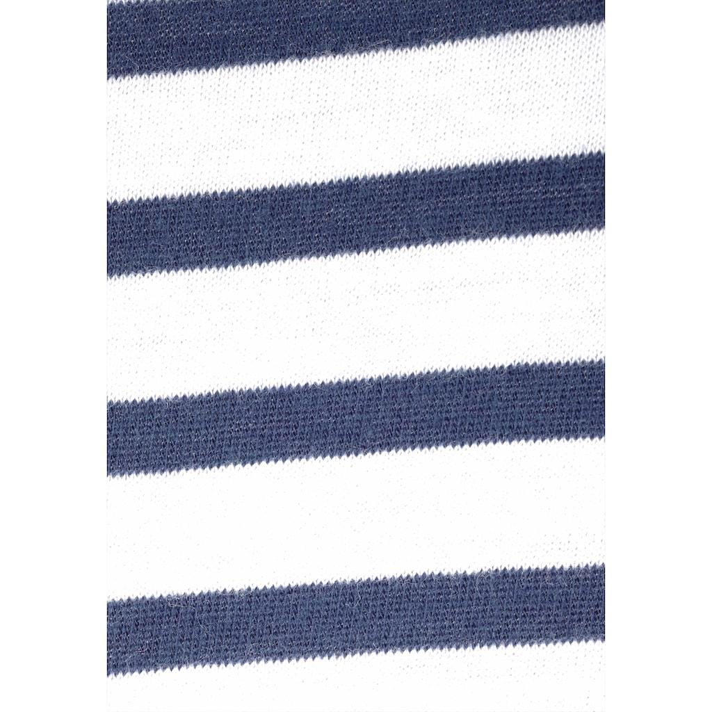 Schiesser Nachthemd, in Midi-Länge mit Rundhalsausschnitt
