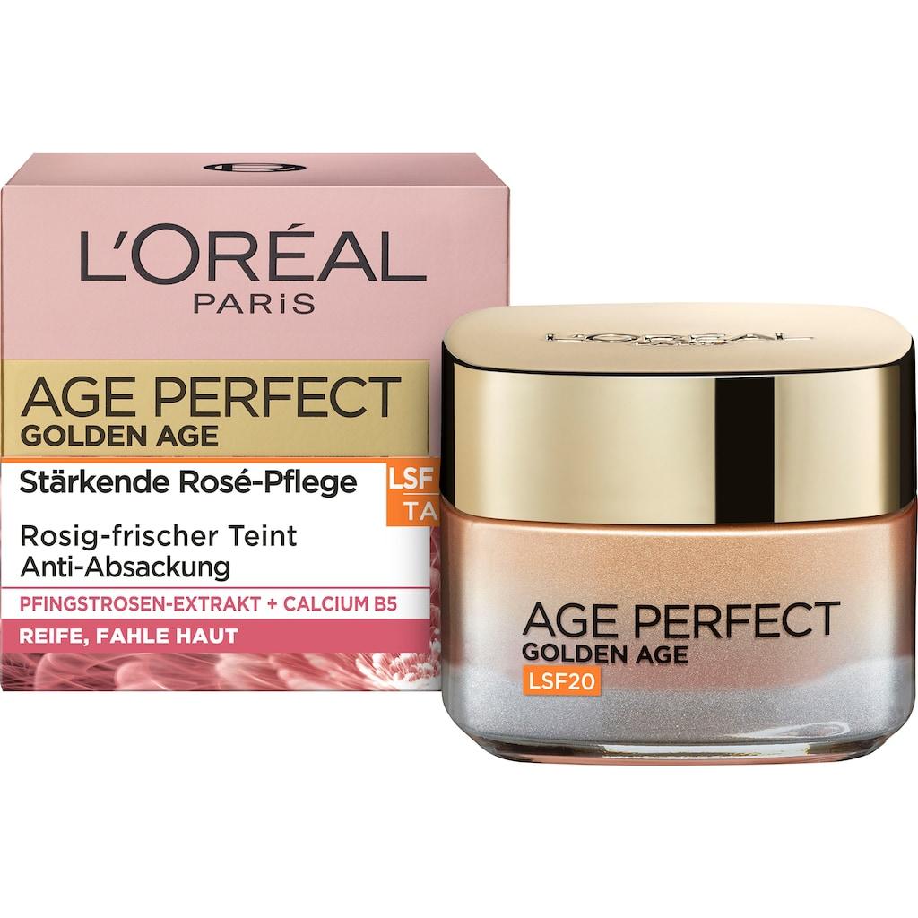 L'ORÉAL PARIS Anti-Aging-Creme »Age Perfect Golden Age LSF20«, mit Calcium B5