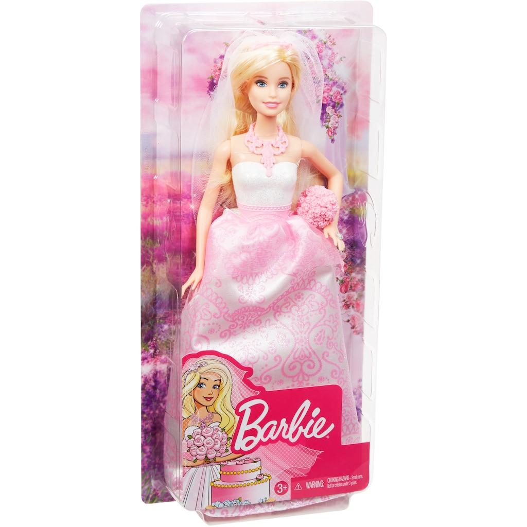 Barbie Anziehpuppe »Braut, blond«