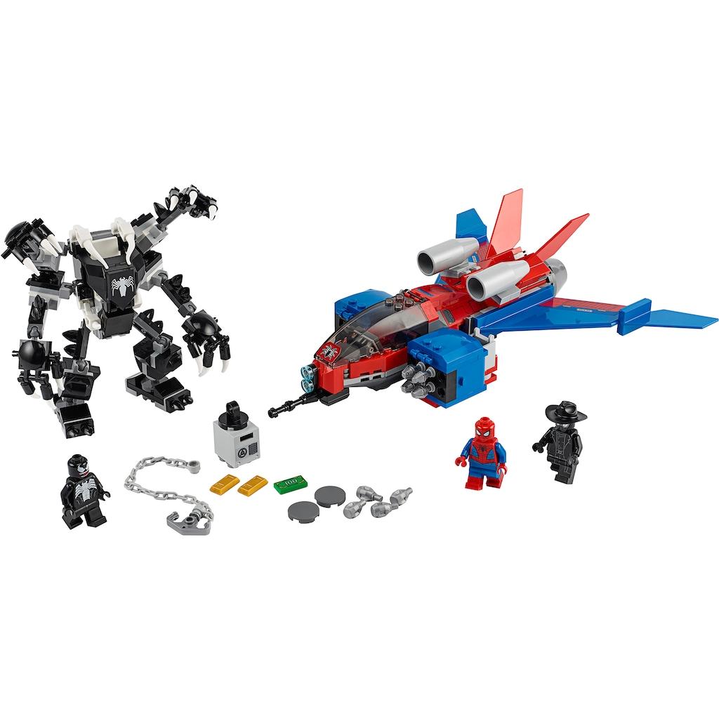 LEGO® Konstruktionsspielsteine »Spiderjet vs. Venom Mech (76150), LEGO® Marvel Super Heroes«, (371 St.)