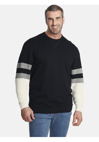Charles Colby Sweatshirt »EARL JIM«, Mix aus Sweat und Strick kaufen