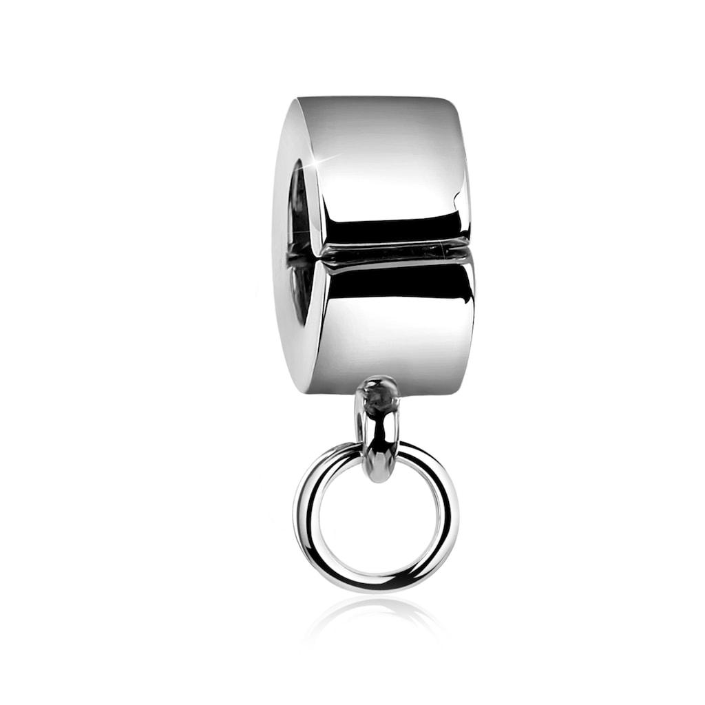 Nenalina Charm-Einhänger »Clip-Bead Charmträger Carrier Anhänger 925 Silber«