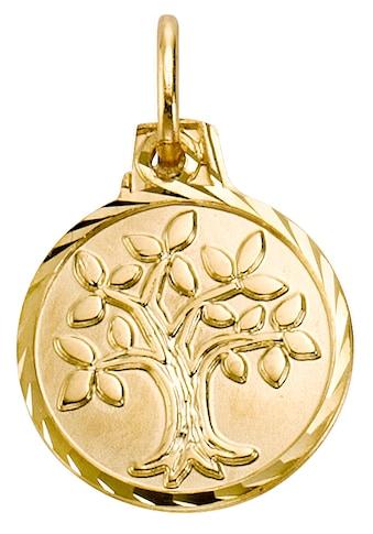 Firetti Kettenanhänger »Lebensbaum, glänzend und diamantiert« kaufen