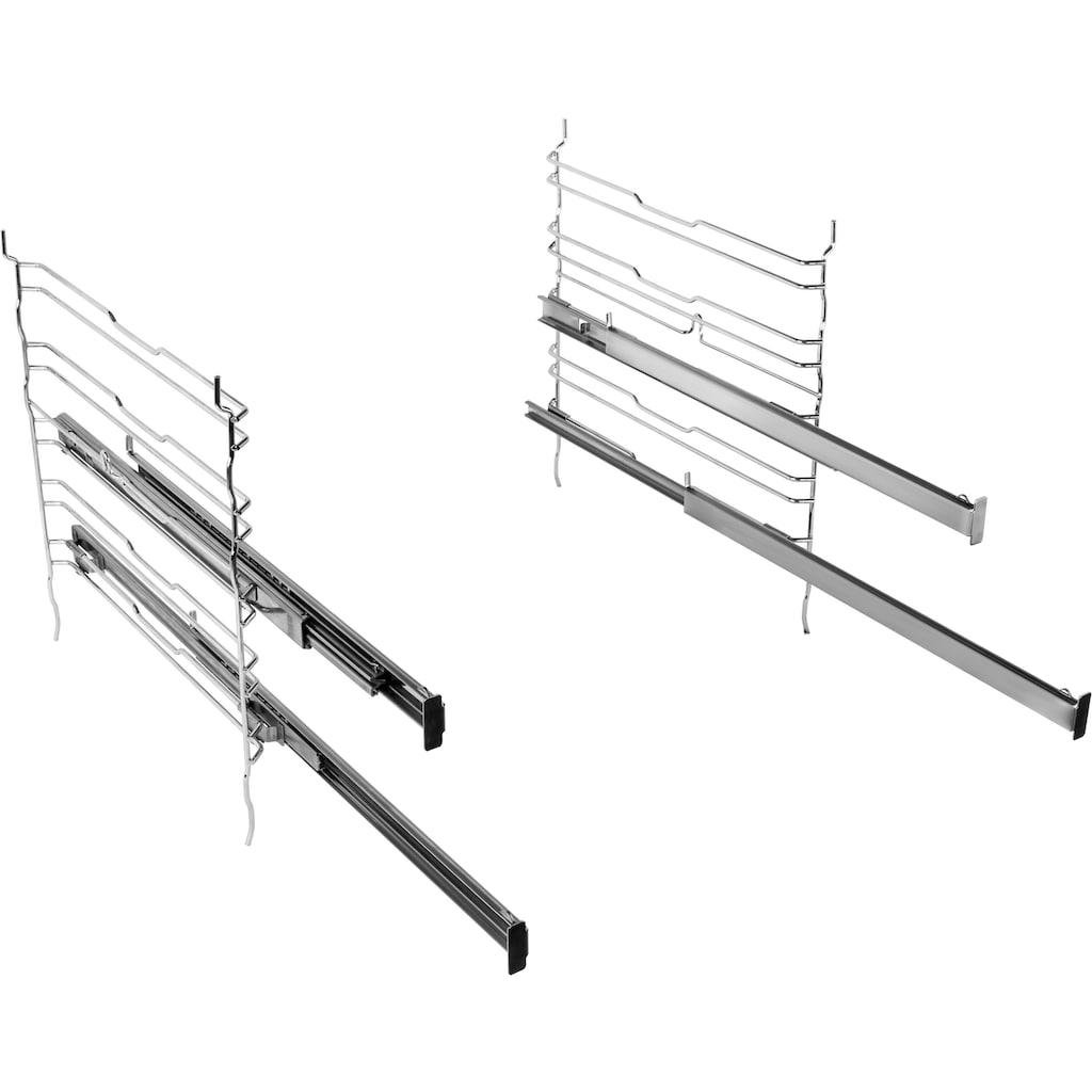 BAUKNECHT Elektro-Herd-Set »Heko Tango«, HIR4 EP8V2 PT, Pyrolyse-Selbstreinigung, (Set)