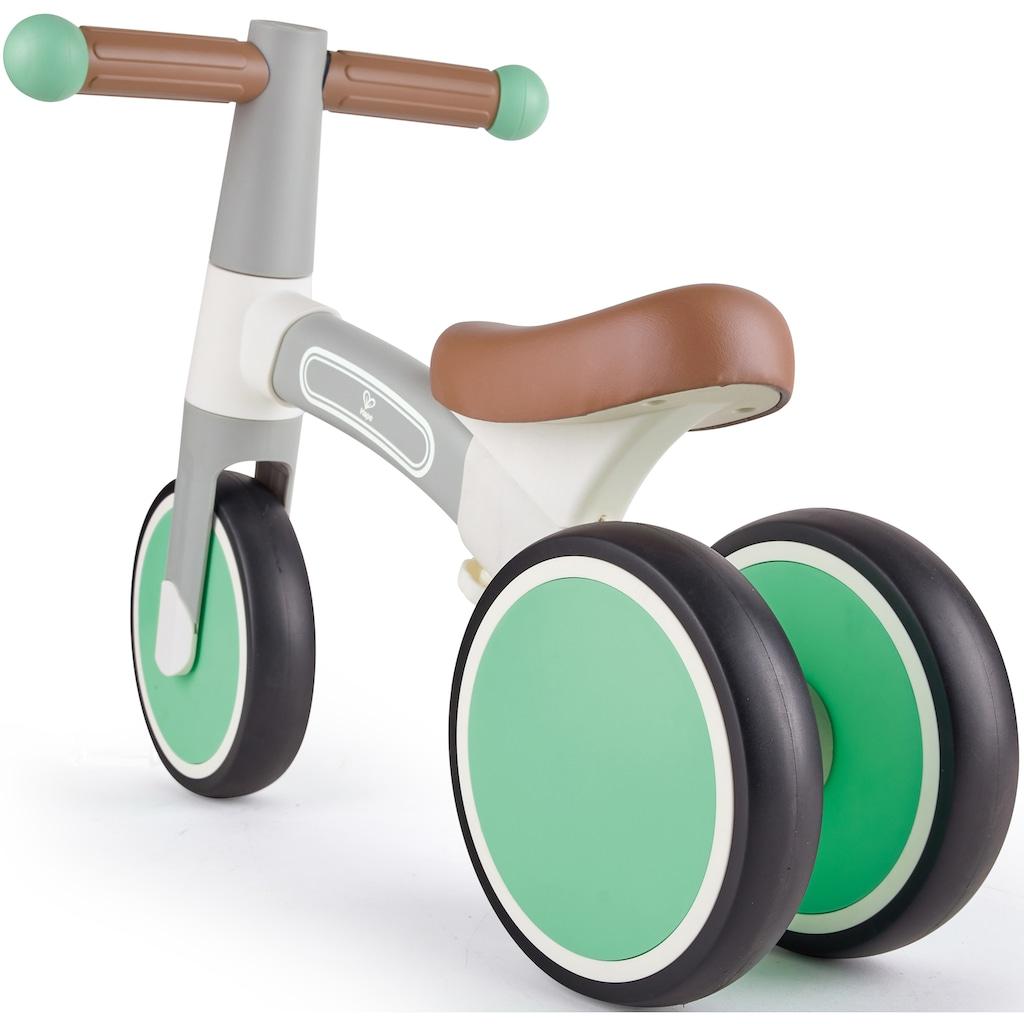 Hape Dreirad »Mein erstes Lauf-Dreirad, Hellgrau«, mit leichtem Aluminiumrahmen