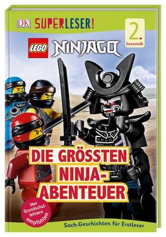 Buch »SUPERLESER! LEGO® NINJAGO® Die größten Ninja-Abenteuer / Julia March« kaufen