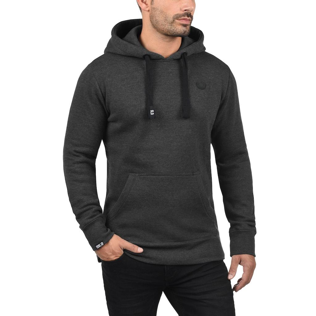 Solid Hoodie »Beno«, Kapuzensweatshirt mit Kängurutasche