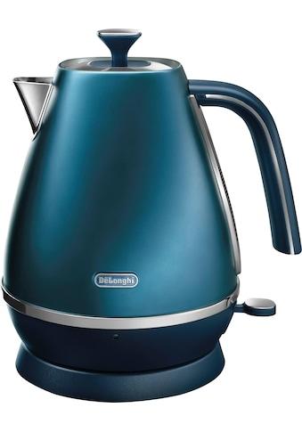 De'Longhi Wasserkocher, Distinta KBI 2001.BL, 1,7 Liter, 2000 Watt kaufen