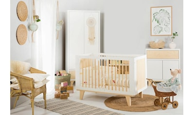 Ticaa Babyzimmer-Komplettset »Lydia«, Bett + Wickelkommode + Schrank kaufen