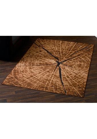 HANSE Home Teppich »Baumstamm -Optik«, rechteckig, 9 mm Höhe, Baumstamm-Optik, Wohnzimmer kaufen