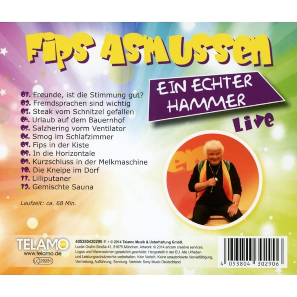 Musik-CD »Ein Echter Hammer / Asmussen,Fips«