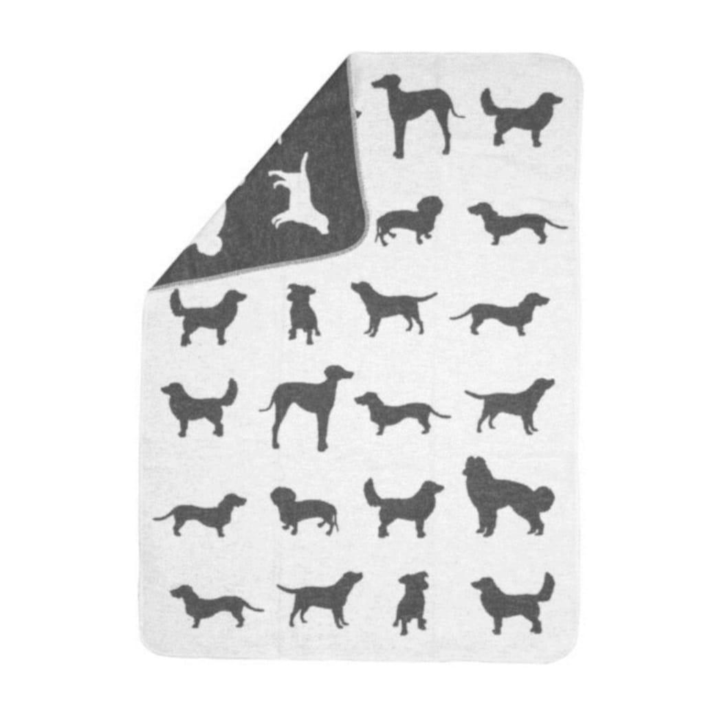 "DAVID FUSSENEGGER Tierdecke, Hunde, kuschelige Tierdecke ""Hunde allover"" - Made in Austria"