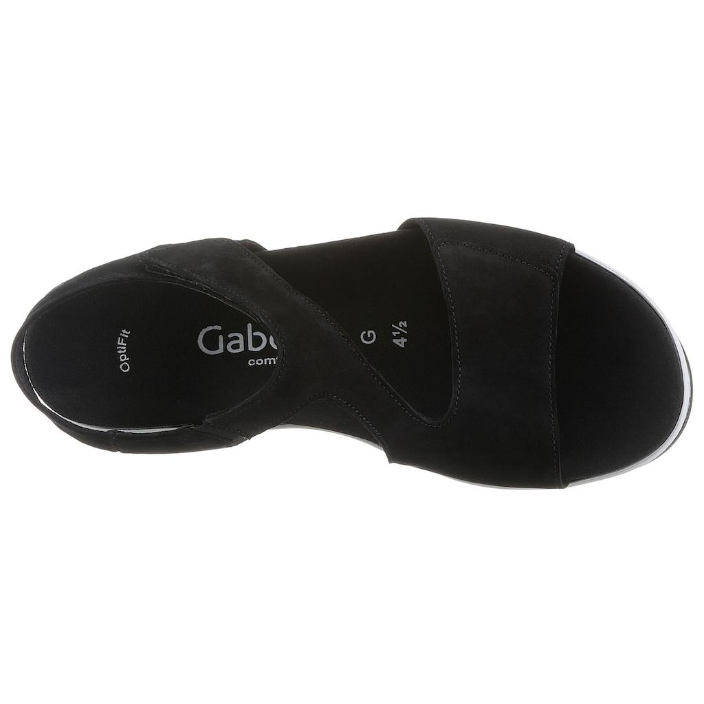 Gabor Sandalette »ATHEN«, mit zwei Klettverschlüssen