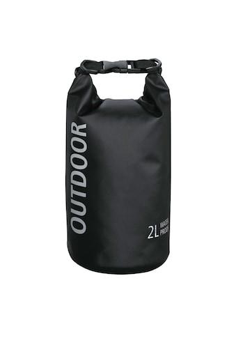 Hama Wasserdichte Outdoor Tasche Packsack mit Rollverschluss »verschweißte Nähte, 2 Liter« kaufen