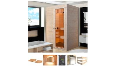 weka Sauna »Vaasa 1«, 4,5 kW Bio-Kombiofen mit ext. Steuerung kaufen
