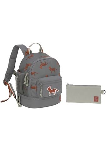 LÄSSIG Kinderrucksack »Safari Tiger, grau« kaufen