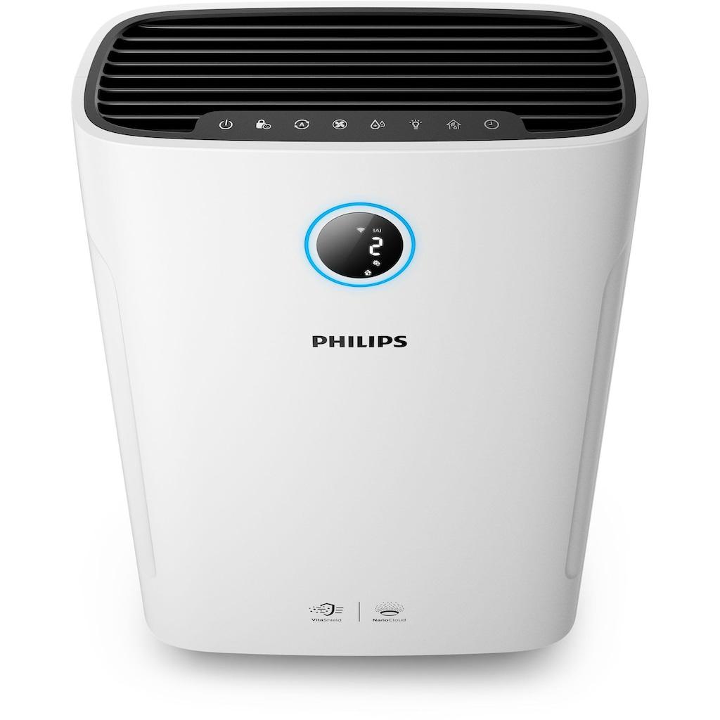 Philips Kombigerät Luftbefeuchter und -reiniger »AC2729/10«, für 60 m² Räume, bis 60 m² Raumgröße, weiß