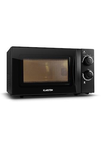 Klarstein Mikrowellen - Ofen schwarz mit Drehteller 20L 700W »myWave« kaufen