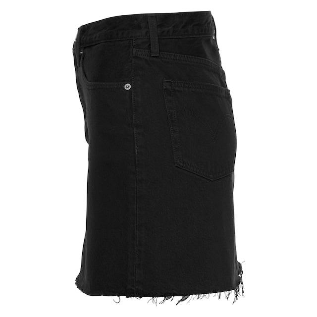 Levi's® Jeansrock »deconstructed Iconic Skirt«