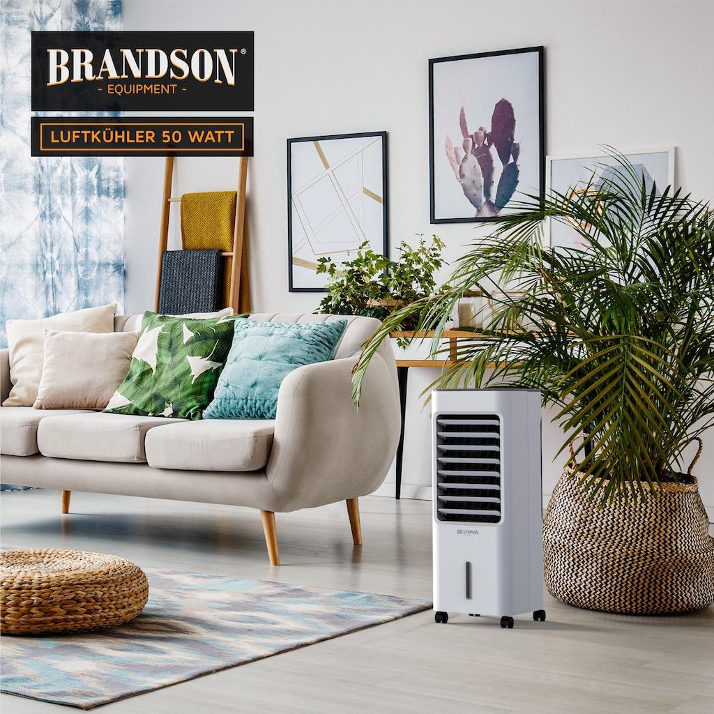 Brandson Turmventilator »Klimagerät, Befeuchter, Verdunstungskühler«, 50 W mit 5L Wassertank