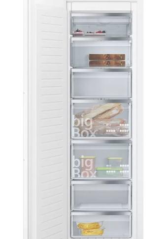 SIEMENS Einbaugefrierschrank iQ500, 177,2 cm hoch, 55,8 cm breit kaufen