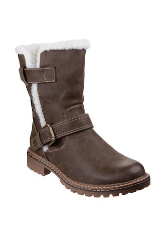 Divaz Stiefel »Damen Nardo mit Fleece-Innenfutter« kaufen