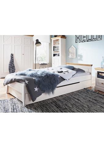 Premium collection by Home affaire Einzelbett »Kim«, aus Massivholz kaufen