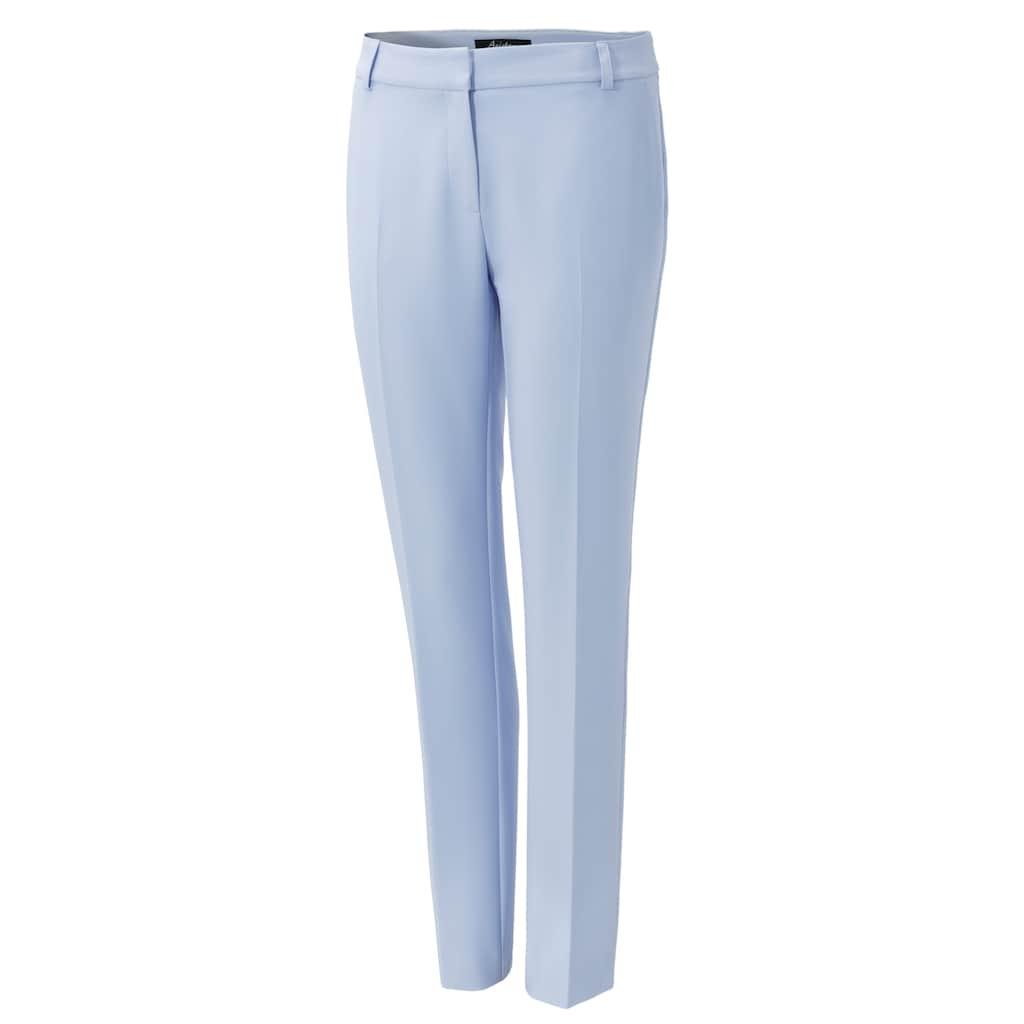 Aniston CASUAL Anzughose, mit kleinen Schlitzen am Beinabschluss