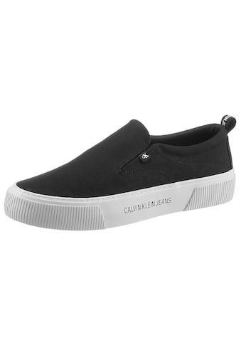Calvin Klein Sneaker, Logo-Applikation auf der Sohle kaufen
