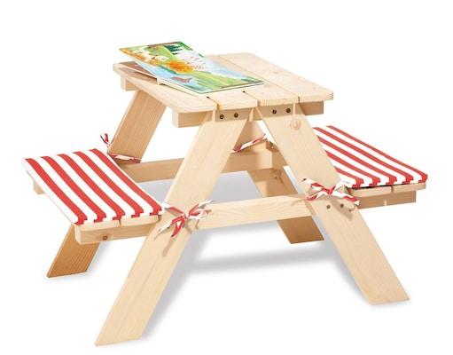 Kinder-Gartenmöbel aus Holz